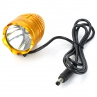 735lm 3-Mode White Light Headlamp - Golden (4 x 18650)