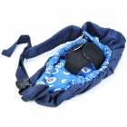Safety Comfortable Baby Carrier Sling - Navy Blue