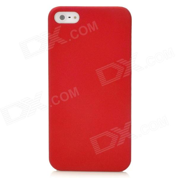 Protective Back Case for Iphone 5 - Red