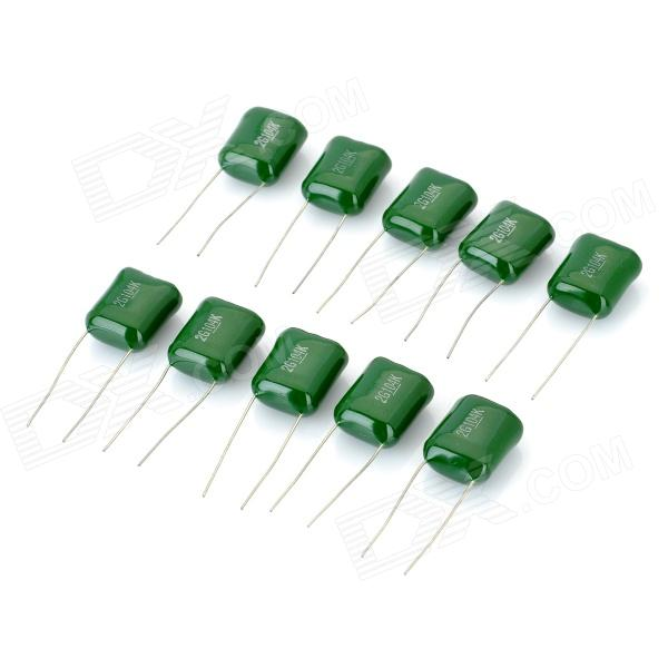 M-CAP 104 = 0.1uF 400V Metal Film Condensadores Set (10 PCS)