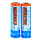 Viwipow 1.2V 2800mAh Rechargeable NiMH AA Batteries - Blue (2 PCS)