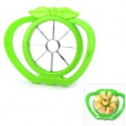 Stainless Steel Slicer Cutter Fruit Knife for Apple Pear - Green
