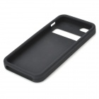 3D Calculator Style Protective Silicone Back Case for iPhone 5 - Black