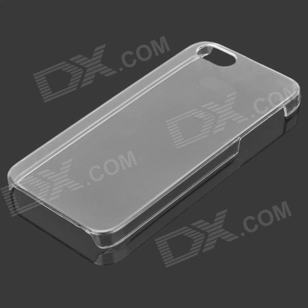 Protective Ultra-Thin PVC Back Case for Iphone 5 - Transparent remax ultra thin protective abs back case for iphone 5c transparent