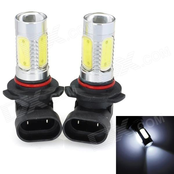 SENCART 9005 7.5W 380lm 7500K 5-LED White Light Car Fog Light (12~24V / 2 PCS) 16pcs led signal s2 warning emergency strobe police flashing intimidator dash blinking light 96w car truck viper s2