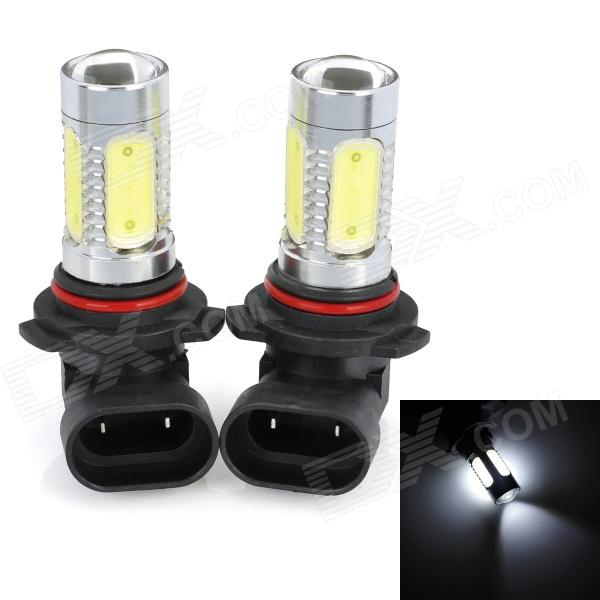 SENCART 9006 7.5W 380lm 7500K 5-LED White Light Car Fog Light (12~24V / 2 PCS) 16pcs led signal s2 warning emergency strobe police flashing intimidator dash blinking light 96w car truck viper s2