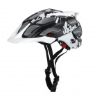 Black White Laplace Q3 Cycling Helmet