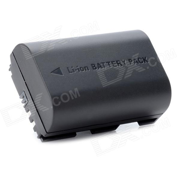 Ruibo LP-E6 Replacement 7.4V 1800mAh Li-ion Battery for Canon 5D Mark II / 60D Mark III - Black canon eos 7d mark ii body