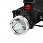 Cree XM-L T6 385lm 3-Mode White Light Headlamp - Black (1 x 18650 / 3 x AAA)