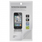 Diamond Pattern PET Glossy Screen Protector Guard for Iphone 5 - Transparent