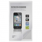 Silver Diamond Pattern PET Glossy Screen Protector Guard for Iphone 5 - Transparent