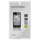 Diamond Pattern PET Glossy Screen Protector Guard for Iphone 5 - Transparent Green