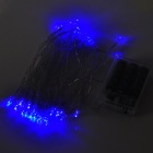 3W 40-LED Blue Light Decoration String Light for Christmas / Wedding Party (3 x AA)