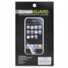 Protective ARM Mirror Screen Protector Guard for Iphone 5 - Transparent White