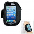 Trendy Sports Outdoor Net Armband for Iphone 5 - Black