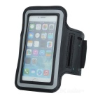 Trendy Sports Outdoor Neoprene Armband for Iphone 5 - Black