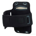 Trendy Sports Outdoor Neoprene Armband para iPhone 5 - preto
