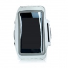 Trendy Sports Outdoor Armband for Iphone 5 - White + Black