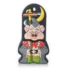 Zhu Bajie Stil USB 2.0 Flash Drive - Black + Grey (16GB)