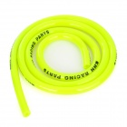 Motorcycle Rubber Fuel Line Hose Tube - Yellow