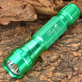 UltraFire WF-501B 885lm 1-Mode White Light Flashlight - Green (1 x 18650)