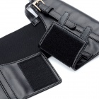 Fashion Woman's PU Leather Belt Accessory w/ Shoulder Strap - Black