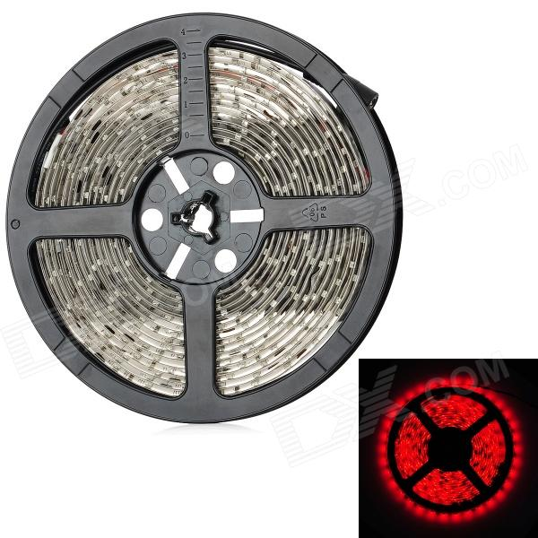 18W 1200lm 635 ~ 700nm 300-SMD 3528 LED Luz Roja Decoración Tira Flexible (DC 12V / 500cm)