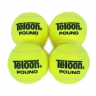 Teloon    POUND 4 Wool + Rubber Tennis Balls