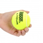 Teloon POUND 4 Wool + Rubber Tennis Balls - Fluorescent Yellow (4 PCS)