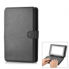 "80-Key Wired Keyboard w/ Protective Artificial Leather Case for 7"" Tablet PC - Black"