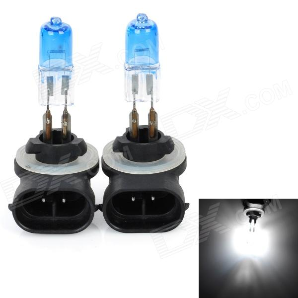 SENCART 889 27W 6000K 604lm White Light Halogen Car / Motorcycle Fog Light (DC 12V / 2 PCS)