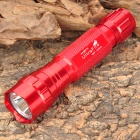 UltraFire WF-501B Cree XM-L T6 885lm 5-Mode Memory White Light Flashlight - Red (1 x 18650)