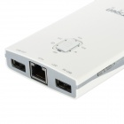 HOTSION HOT-V9 5200mAh 3G Wireless WiFi Hotspot Router Portable Power Bank - White