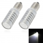 SENCART E10 5W 300lm 7500K ED White Light Car Clearance / Reading Lamp (12~24V / 2 PCS)