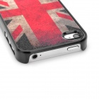 Protective Vintage UK National Flag Pattern Back Cover Case for Iphone 4 / 4S