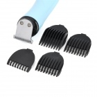 POVOS PR3011 Electric Rechargeable Baby Hair Trimmer Clipper - Black + Blue + White
