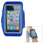 Trendy Sports Outdoor Armband for Iphone 5 - Blue + Black
