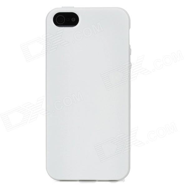 Protective Silicone Soft Back Case Cover for Iphone 5 - White костюм lovebites костюм