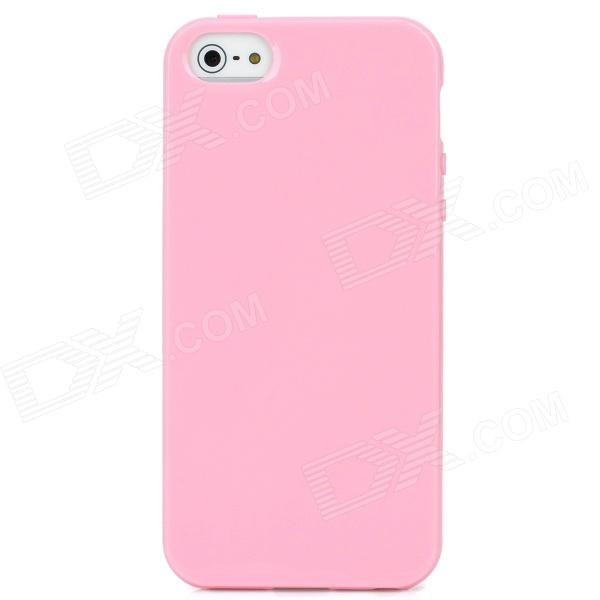все цены на Protective Silicone Back Case for Iphone 5 - Light Pink