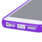 Protective Silicone Back Case for Iphone 5 - Purple