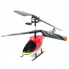 Rechargeable 2.5-Channel 120mAh R/C Helicopter w/ Blades - White + Red + Black