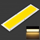 DIY 7W 630LM 3200K Warm White Light Flat Strip LED Module (10~13V)