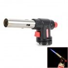 Multi-Function Adjustable Auto Ignition Gas Butane Brazing Torch - Black + Red (1300'C)
