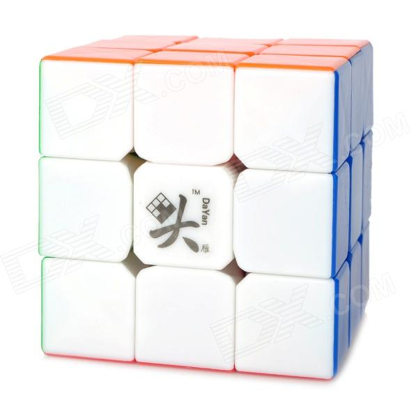 Da Yan 3x3x3 Brain Teaser Magic IQ Cube - Multicolored mini 3x3x3 brain teaser magic iq cube keychain