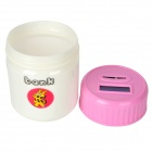 "Creative 1.6"" LCD Digital Coin Counting Bank - Pink + White"
