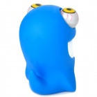 Shark Style Eyes Pop Out Stress Reliever Relief Squeeze Toy - Blue + White
