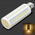 E26 13.2W 792LM 3500K Warm White 66-SMD 5050 LED Light Bulb - White (85~265V)