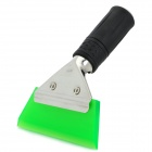 Car Windshield DIY Film Cleaning Cowhells Scraper - Green + Silver + Black