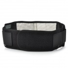 Flexible Self-Heating Healthy Waist Band - Black + White