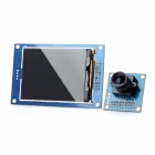 DIY 8051 2.8&quot; Screen OV7670 Glass Fiber Camera Module for MCU - Blue